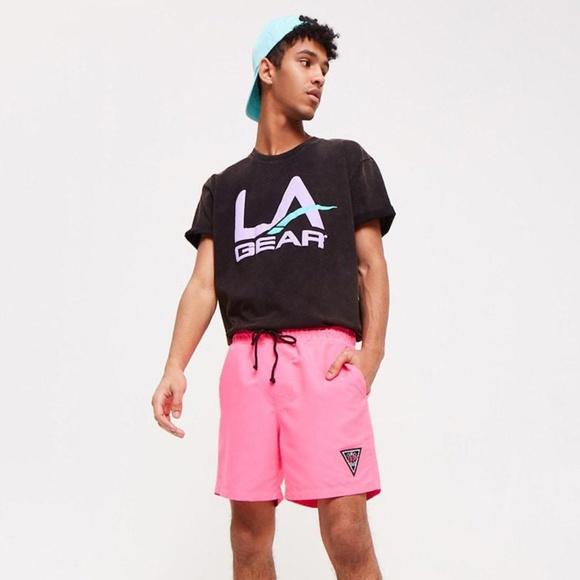 ee032ad7e L.A. Gear Shirts | Forever 21 X La Gear Capsule Black Logo Tee ...